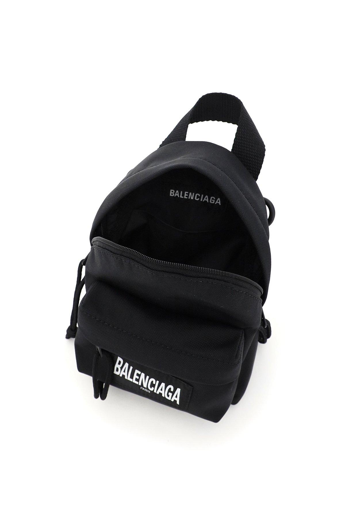 Balenciaga borsa zaino mini recycled casual nylon