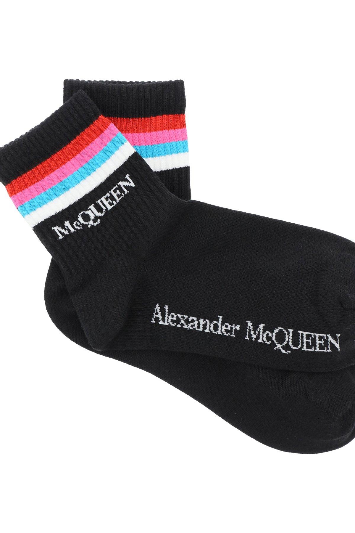 Alexander mcqueen calzini stripe sport