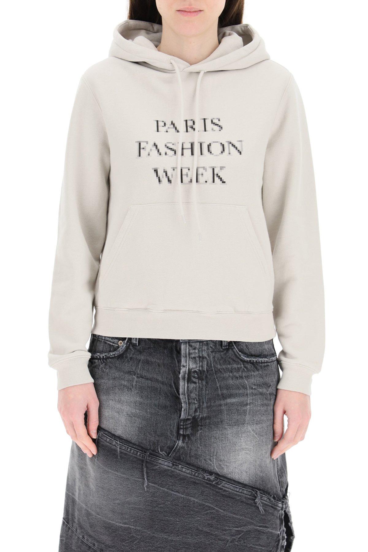 Balenciaga felpa fashion week medium