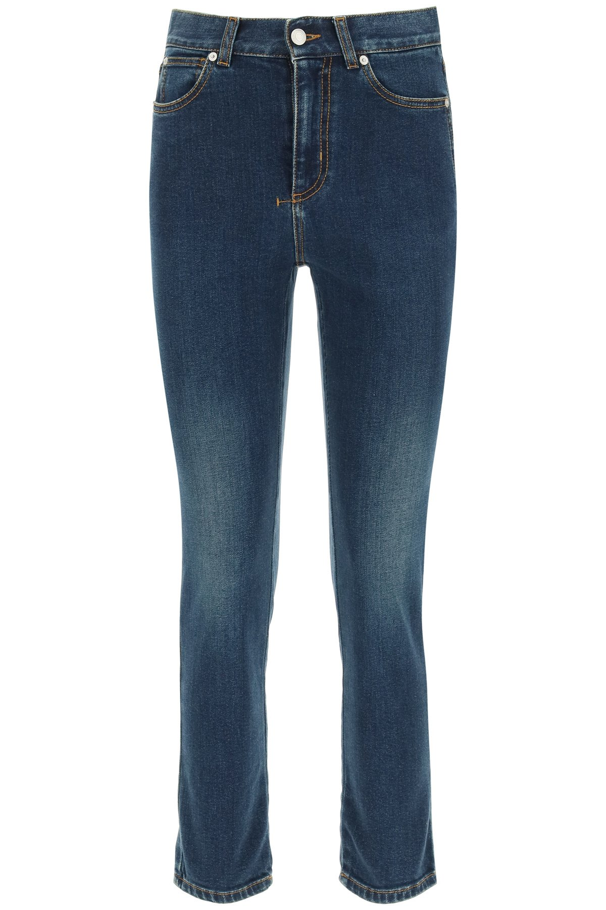 Alexander mcqueen jeans skinny cropped