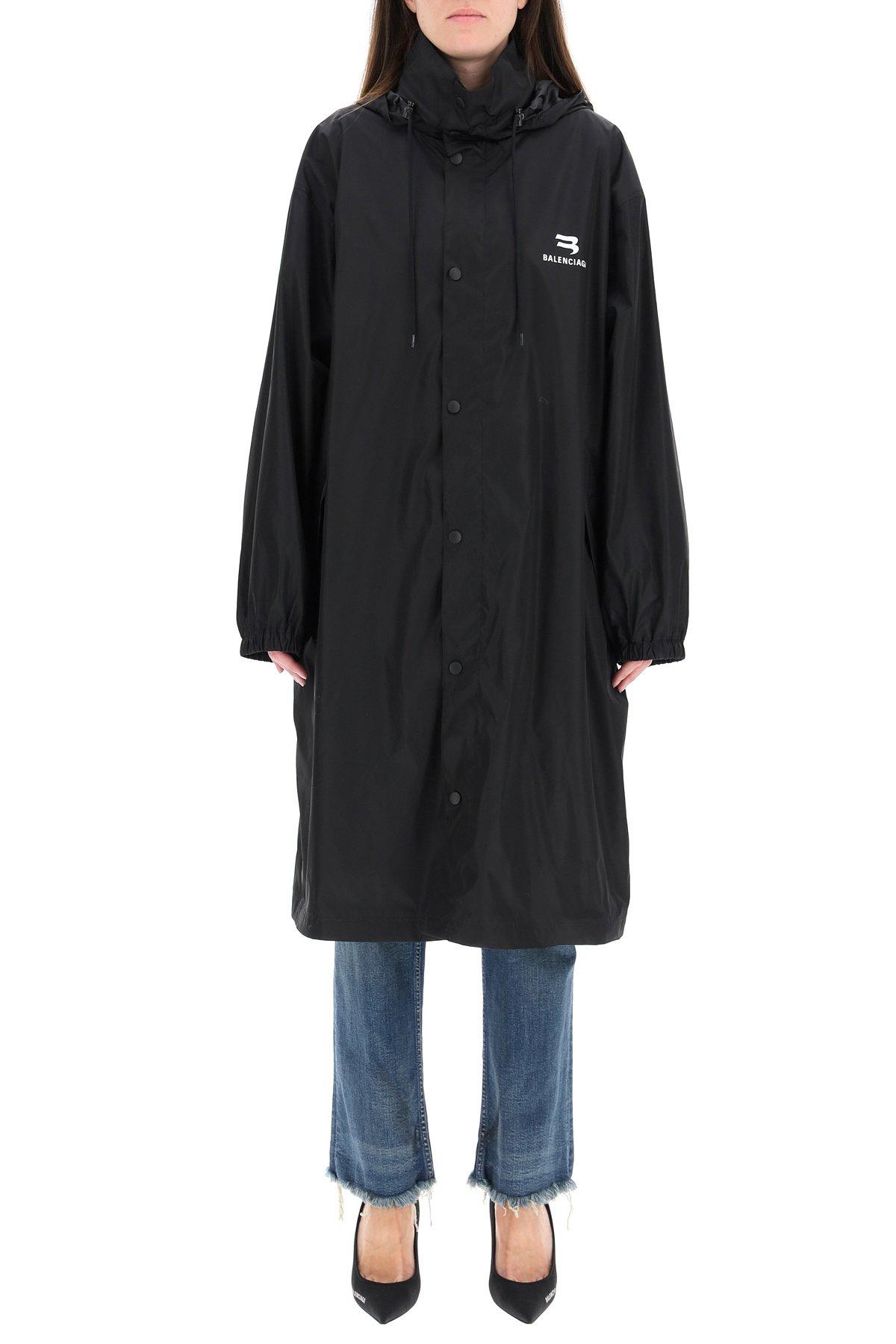 Balenciaga jacket shiny nylon sporty b