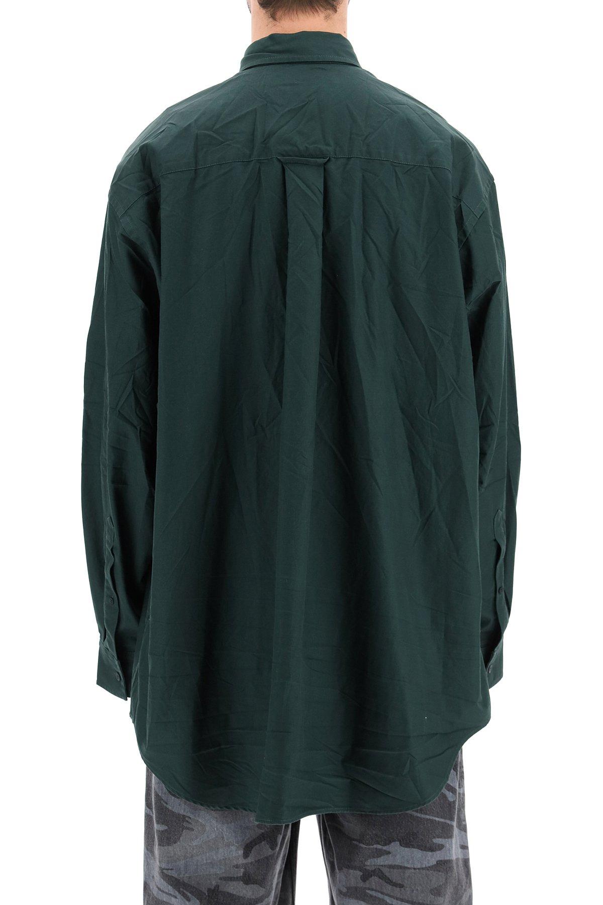 Balenciaga camicia over