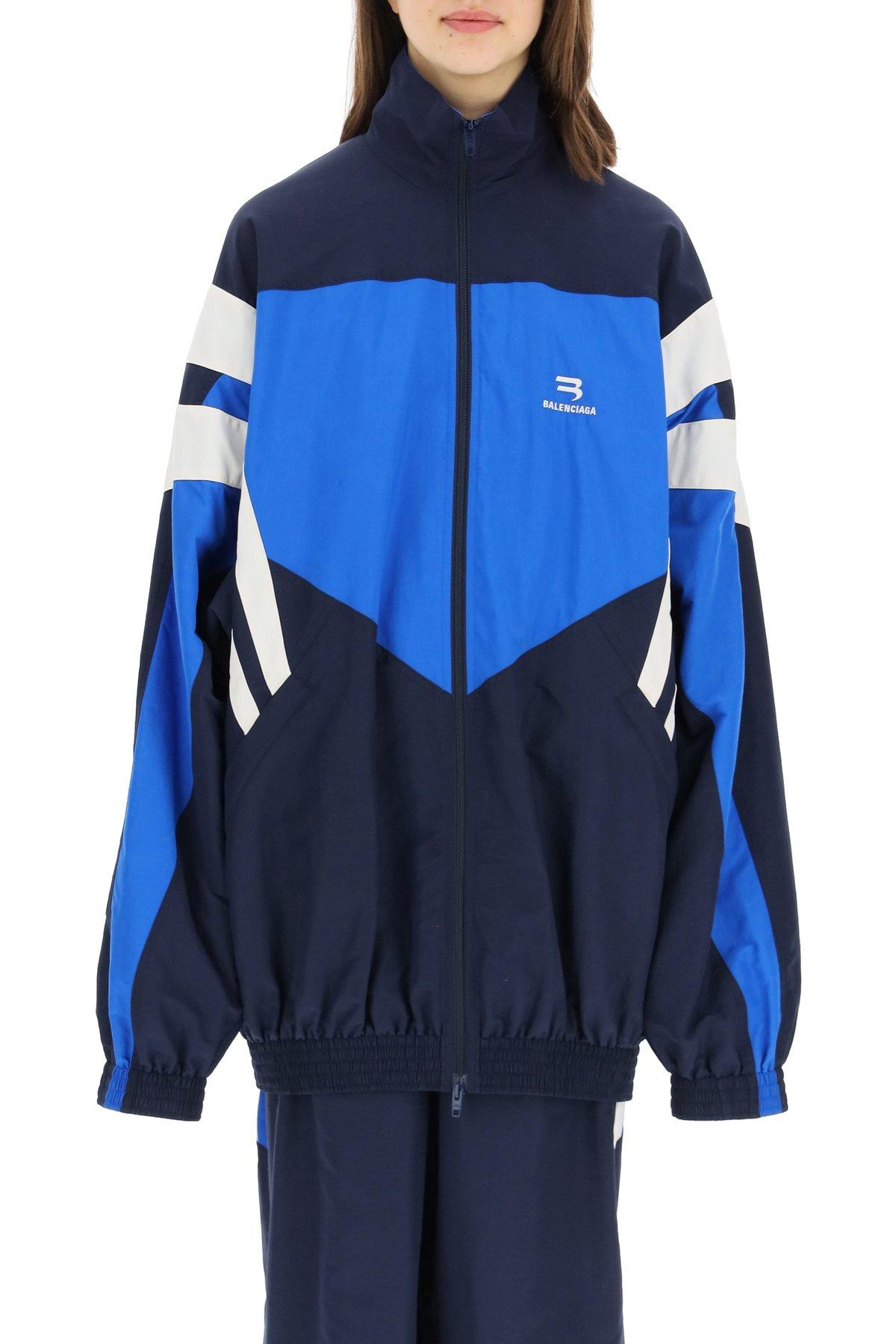 Balenciaga giacca tracksuit in nylon