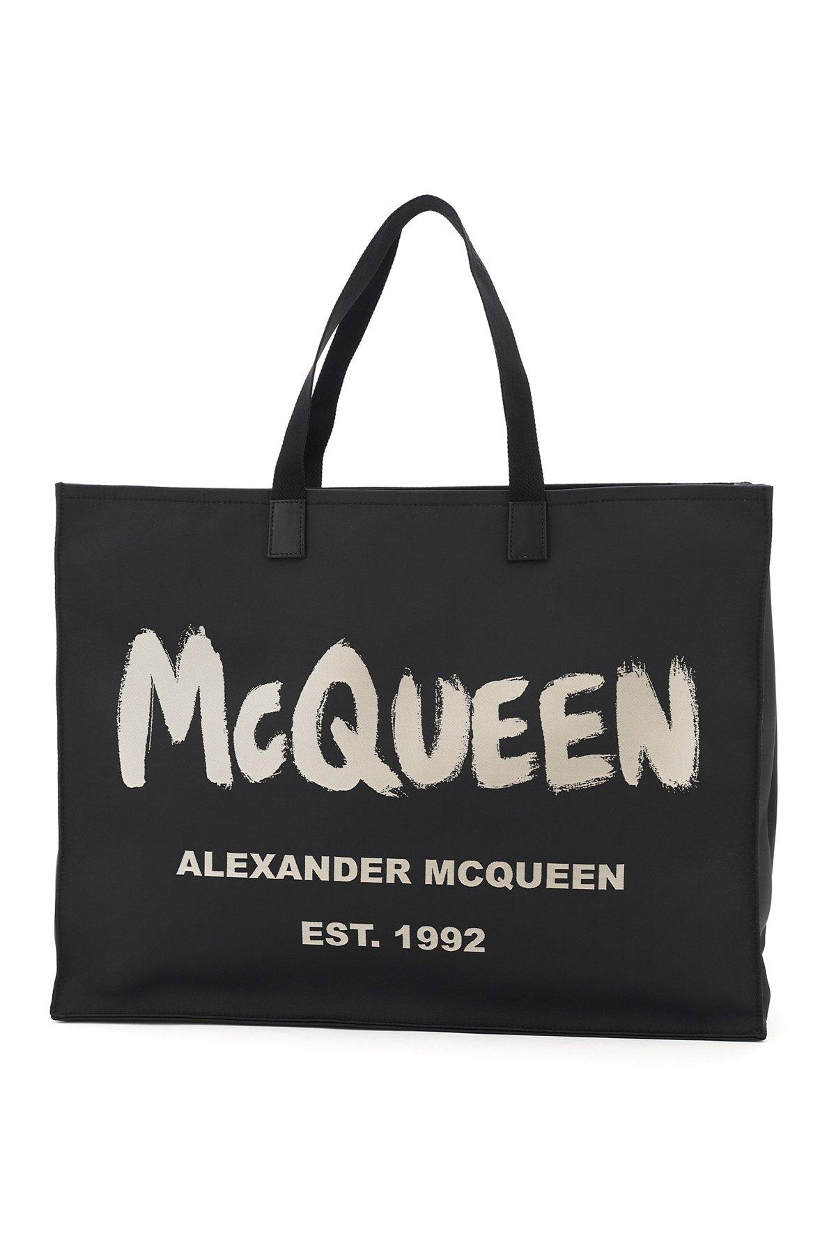 Alexander mcqueen borsa shopping east west