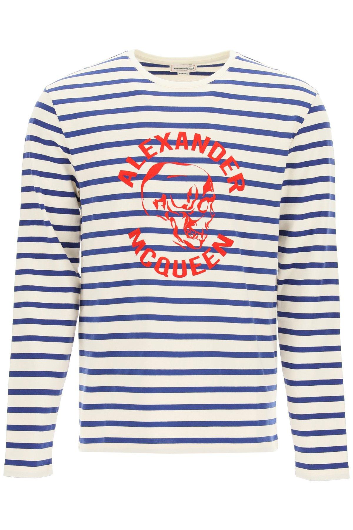 Alexander mcqueen maglia con logo