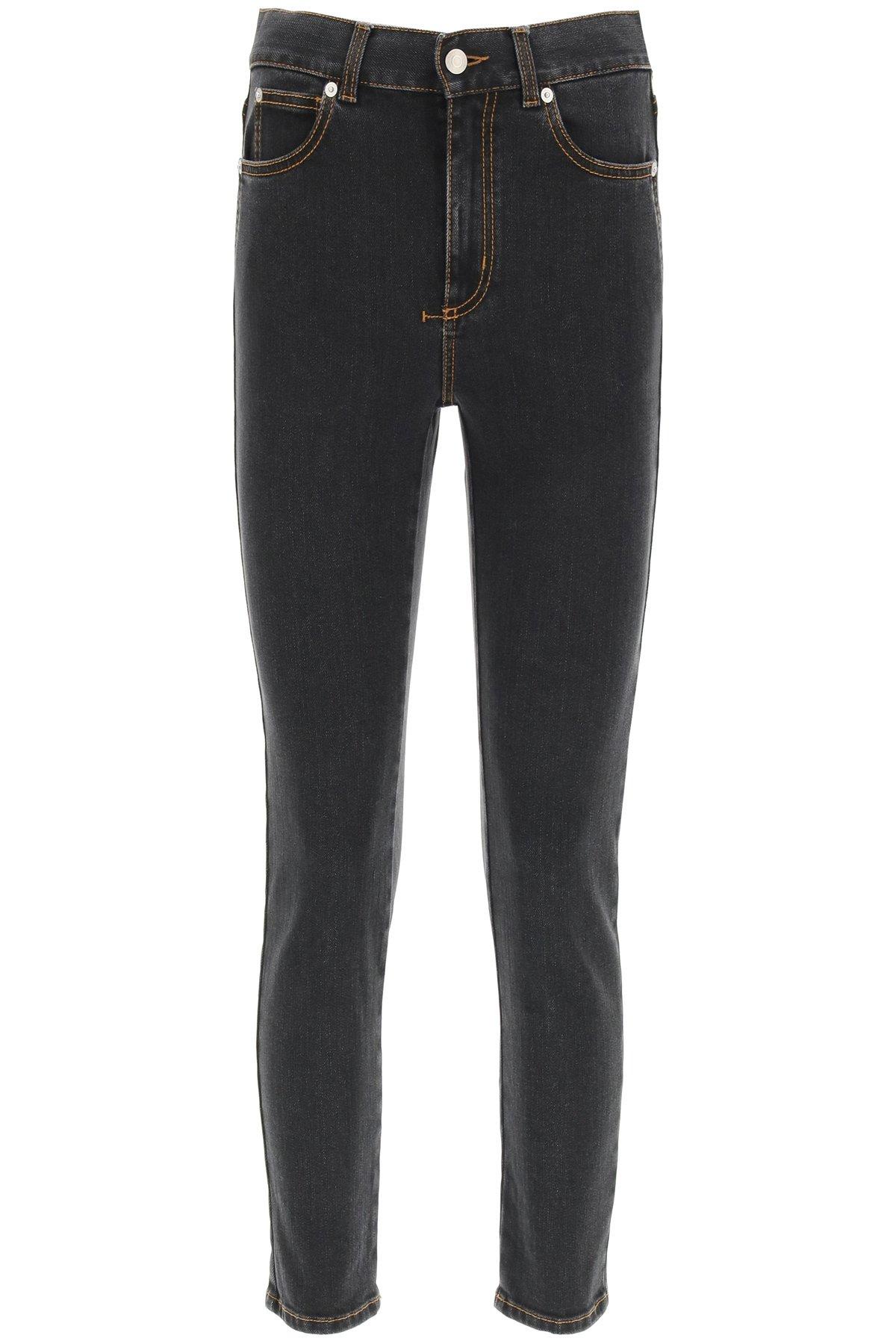Alexander mcqueen jeans a vita alta
