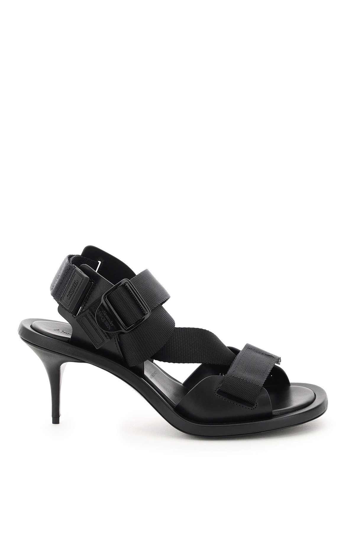 Alexander mcqueen sandali con cinturini in tessuto