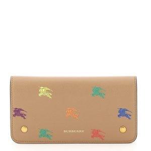 Burberry portafoglio cavaliere equestre multicolor