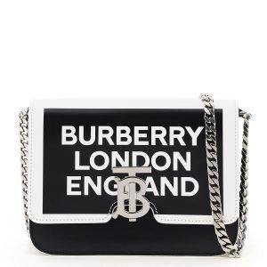 Burberry crossbody tb logo print bag