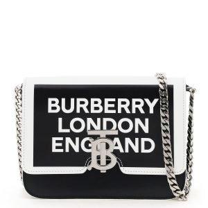 Burberry borsa crossbody tb stampa logo