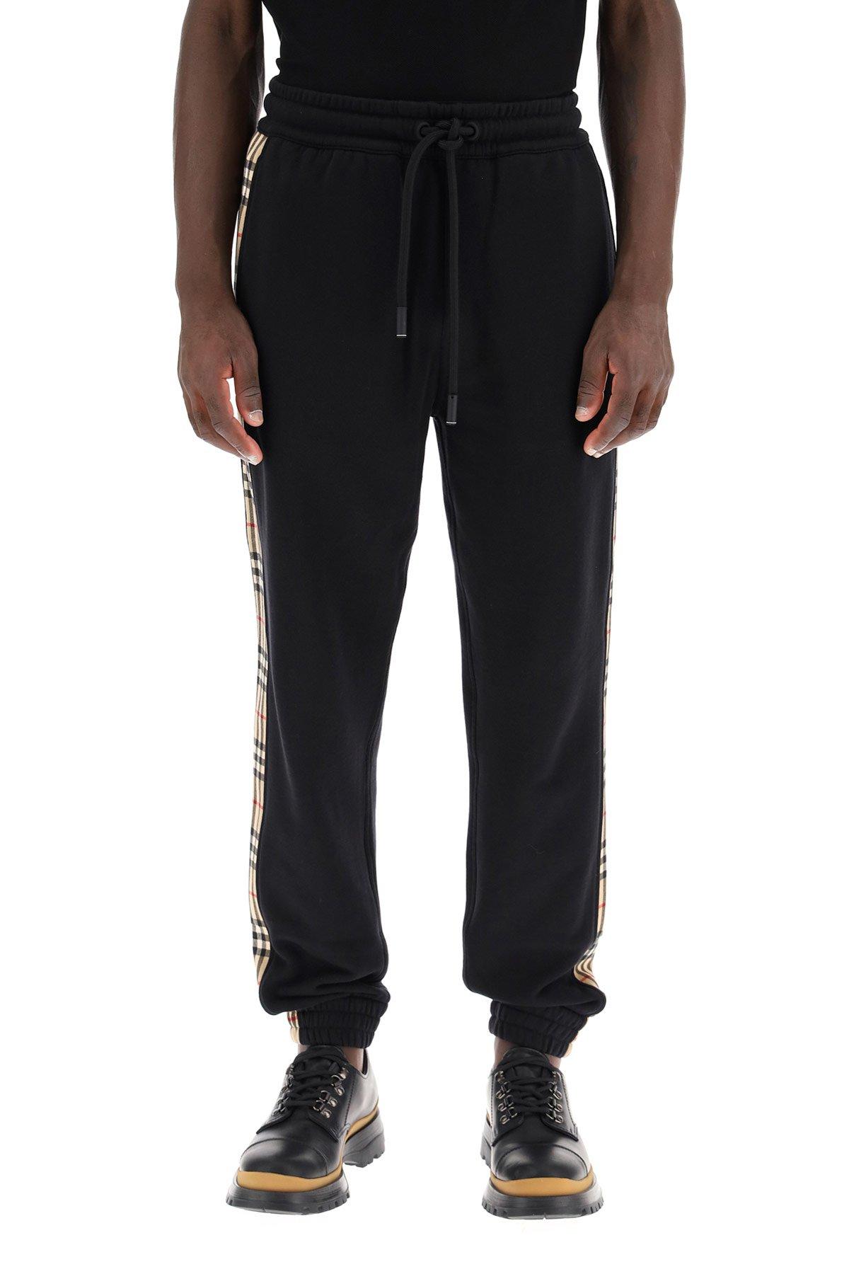 Burberry pantaloni jogging checkford