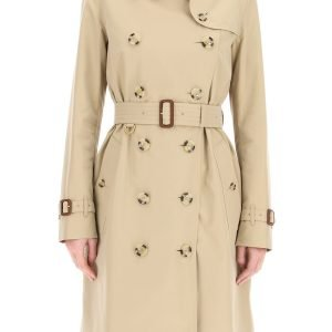 Burberry trench coat heritage kensington midi