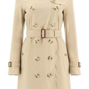 Burberry heritage kensington midi trench coat