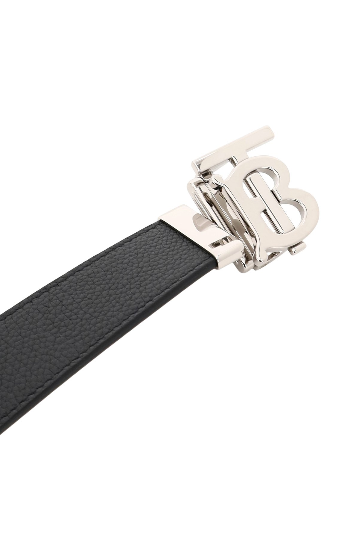 Burberry cintura reversibile tb buckle