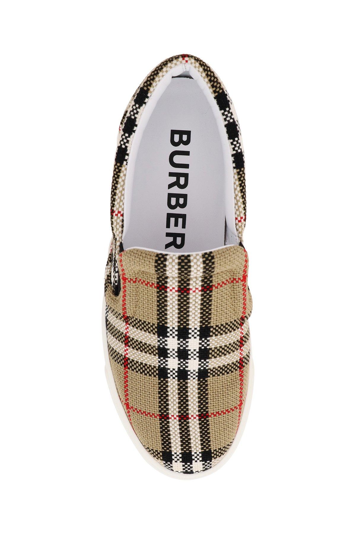 Burberry sneakers slip on thompson