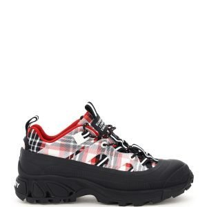 Burberry arthur tartan sneakers