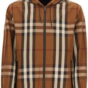 Burberry reversible hooded jacket
