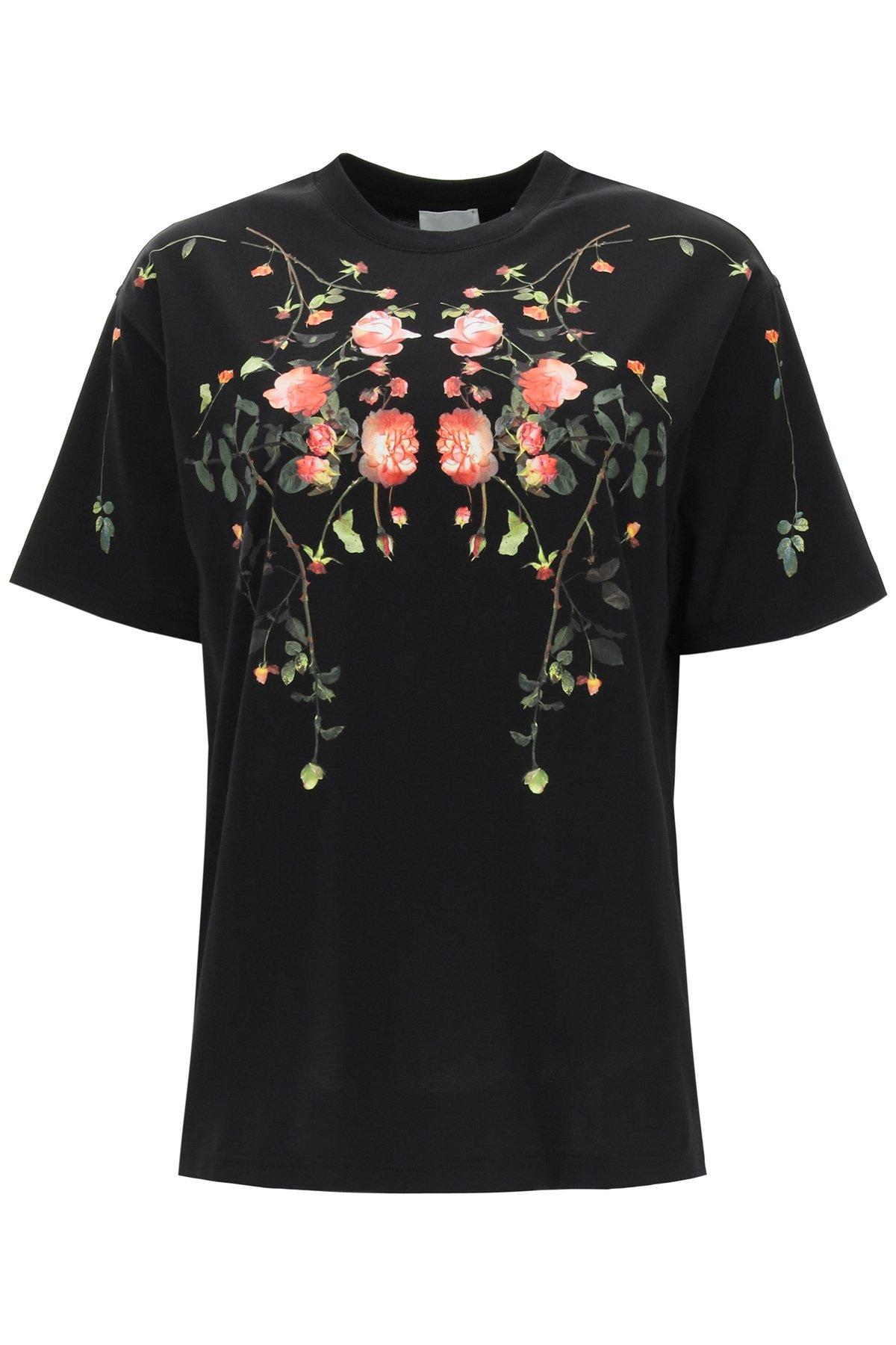 Burberry t-shirt carrick flowers