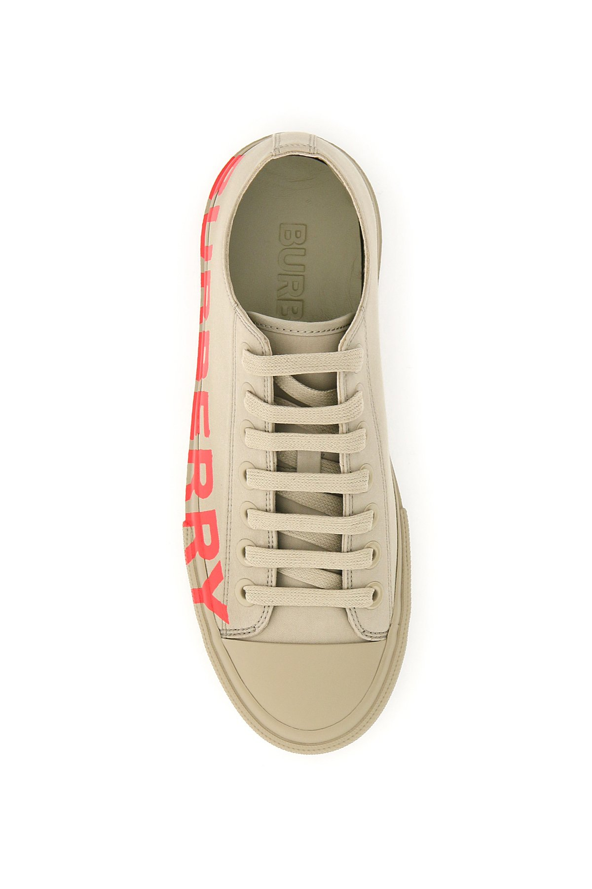 Burberry sneakers stampa logo larkhall
