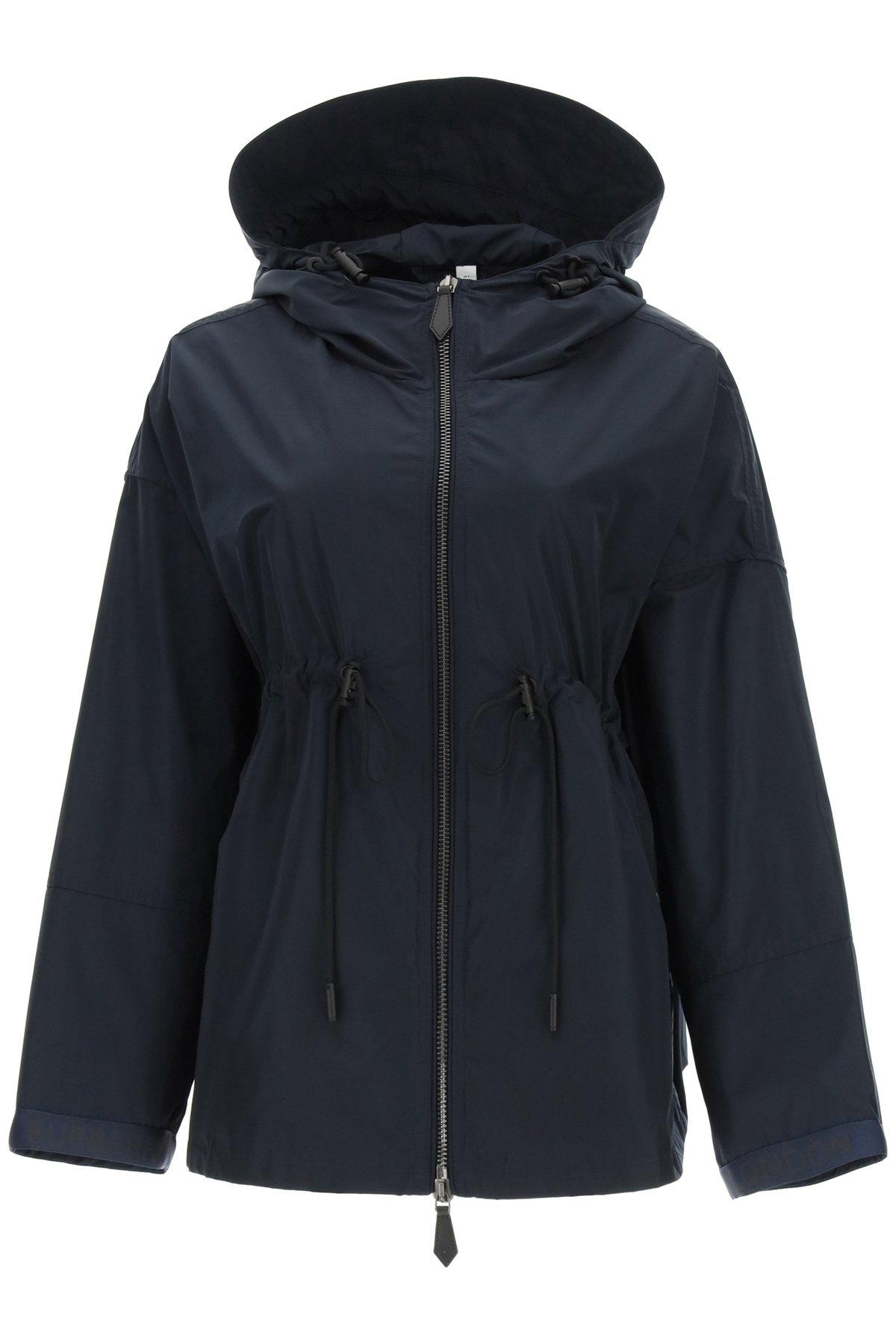 Burberry raincoat bacton in taffetà