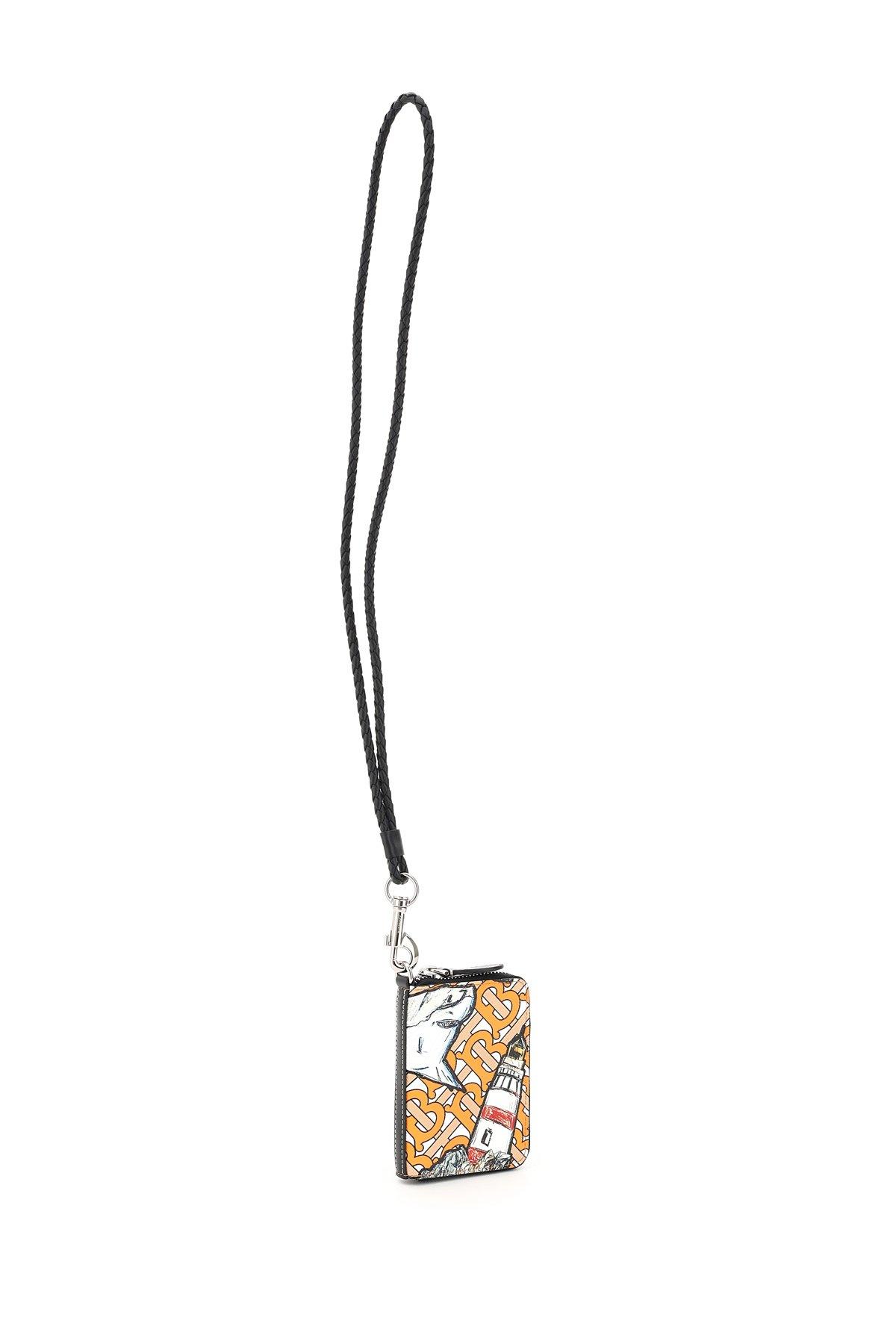 Burberry portafoglio necklace ferris stampa marina tb