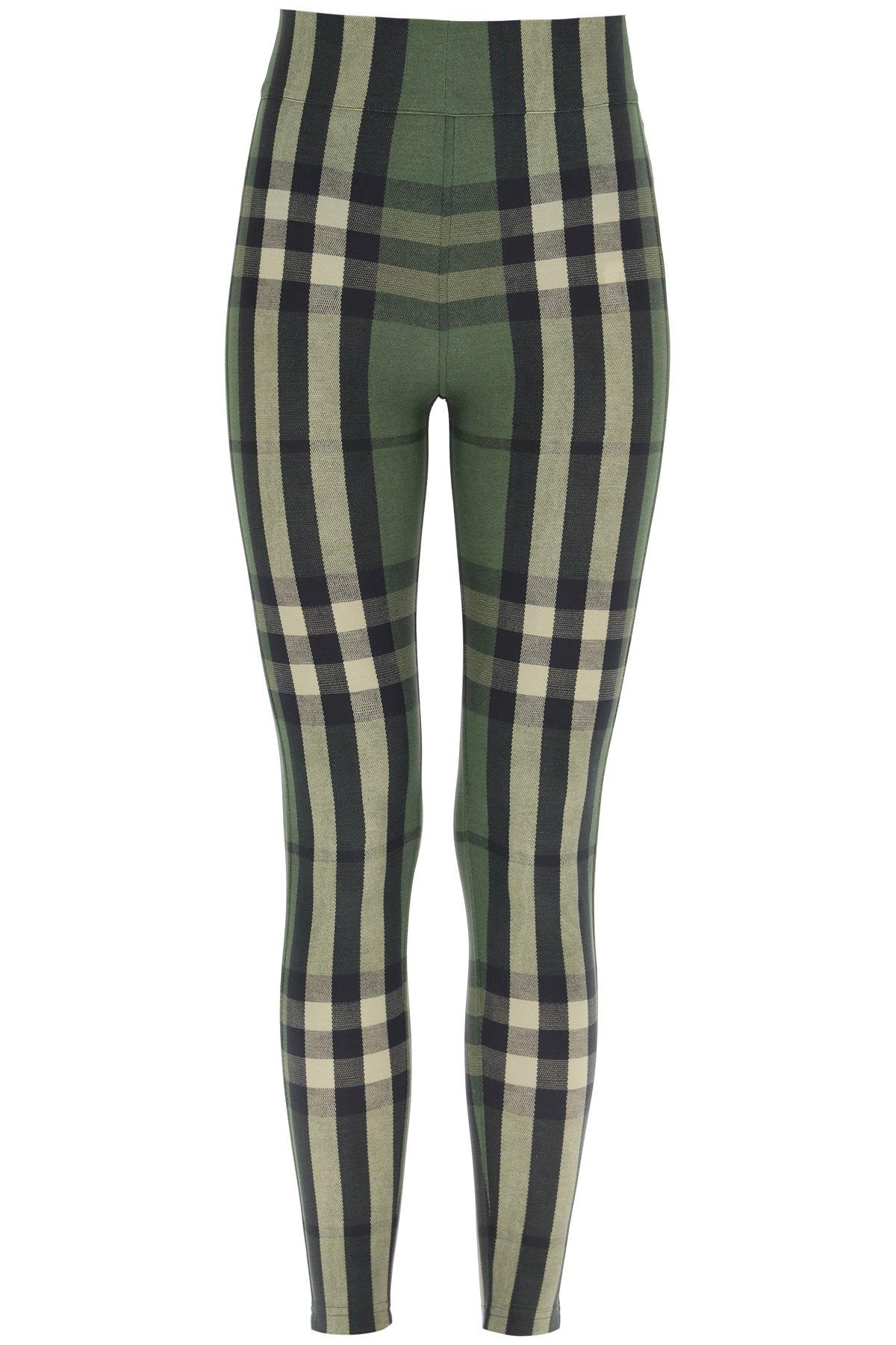 Burberry leggings madden tartan