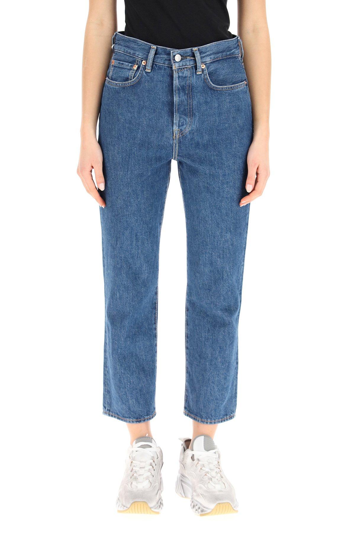Acne studios jeans trash mece straight fit