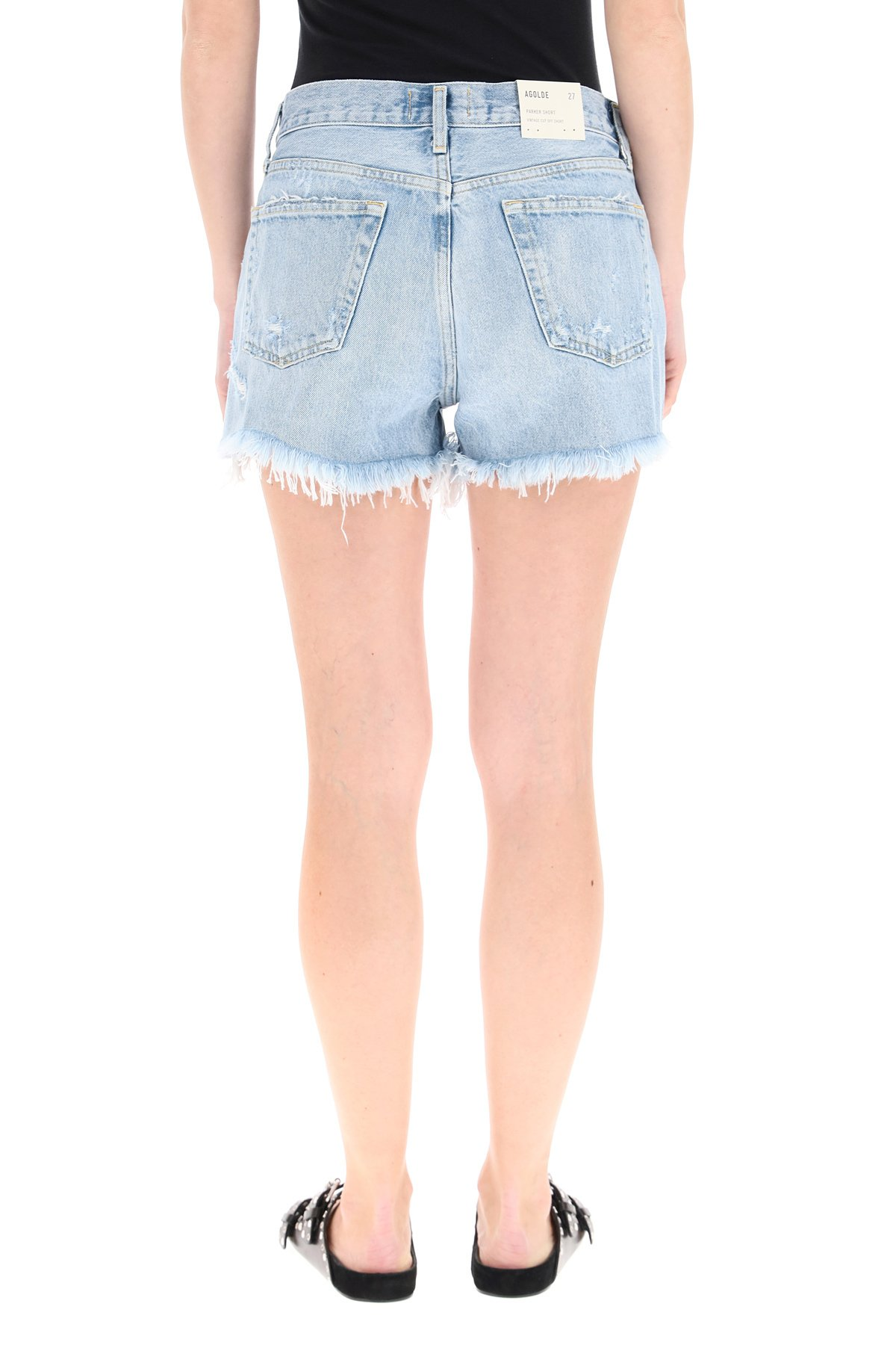 Agolde jeans corti parker