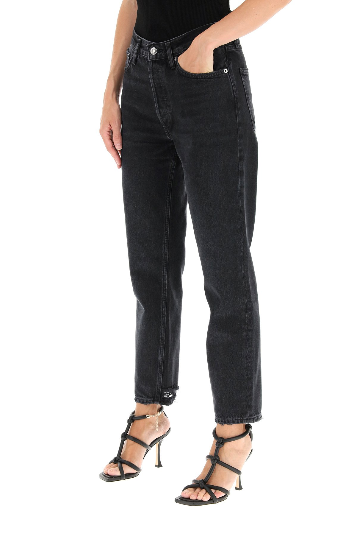 Agolde lana cropped jeans