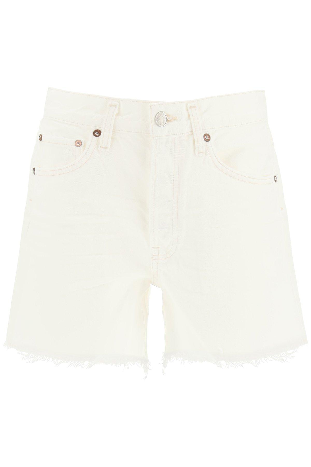 Agolde jeans shorts parker
