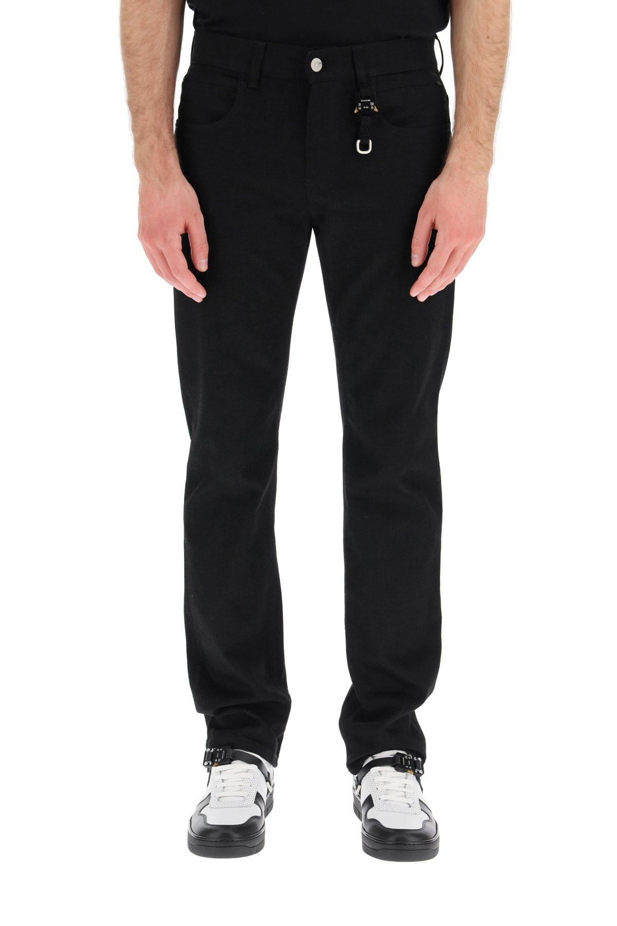 1017 alyx 9sm jeans portachiavi con fibbia