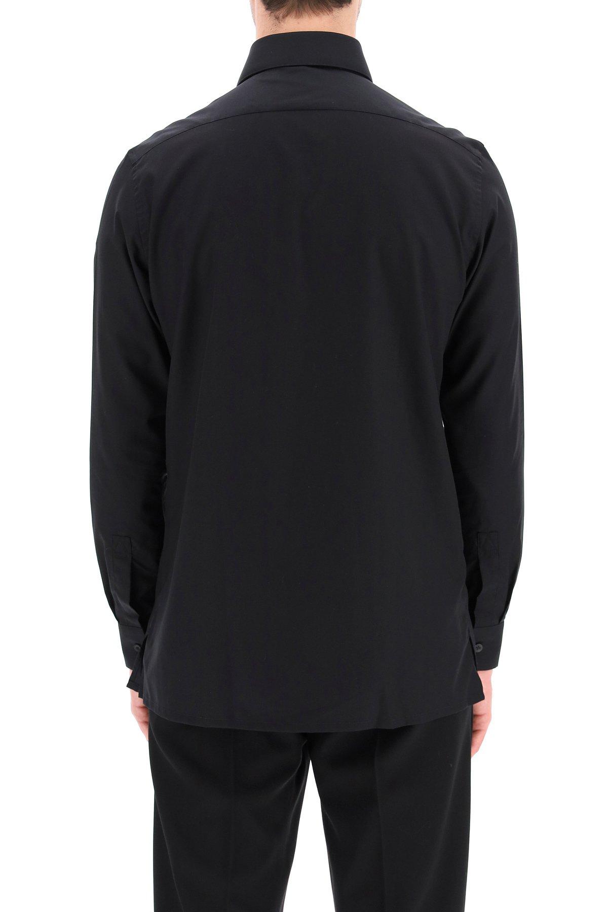 1017 alyx 9sm camicia con logo in metallo