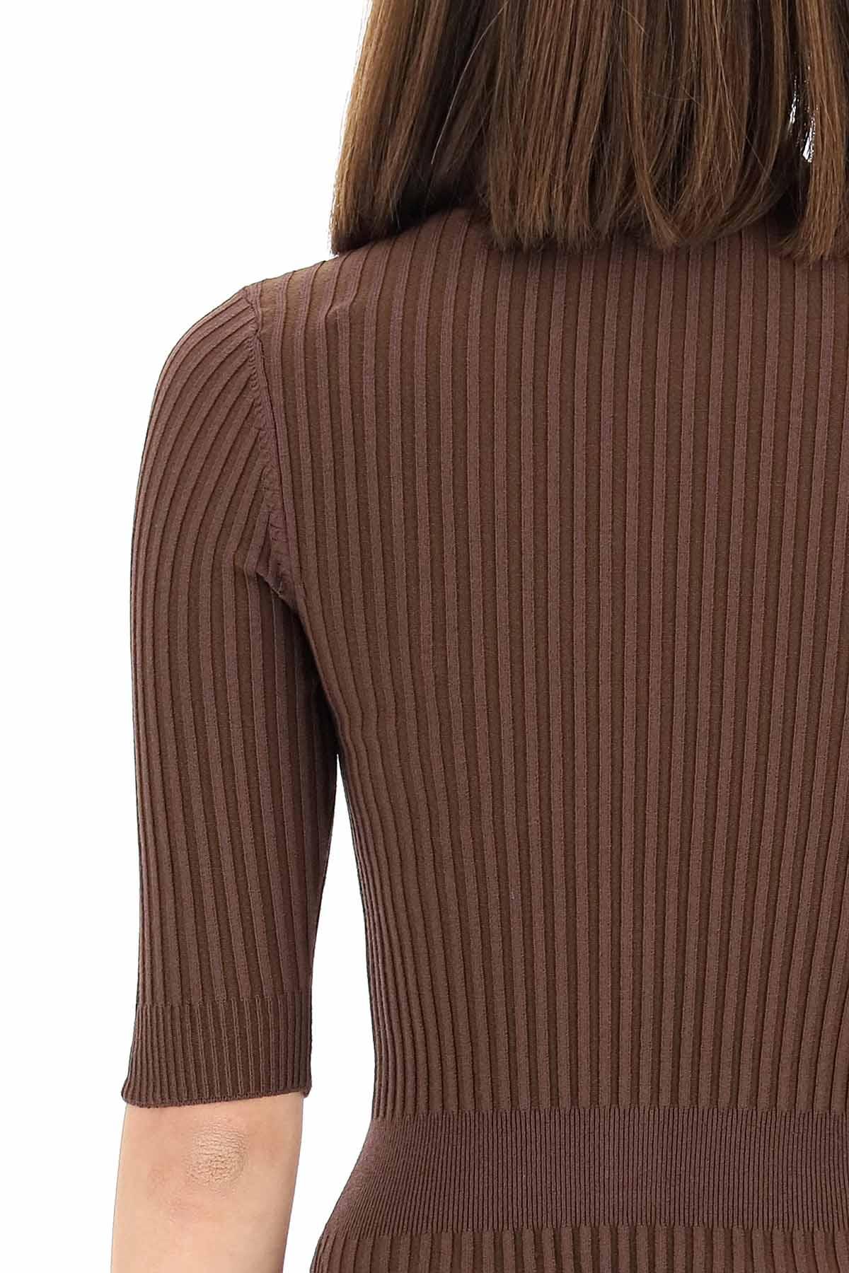 Adamo body in maglia a coste