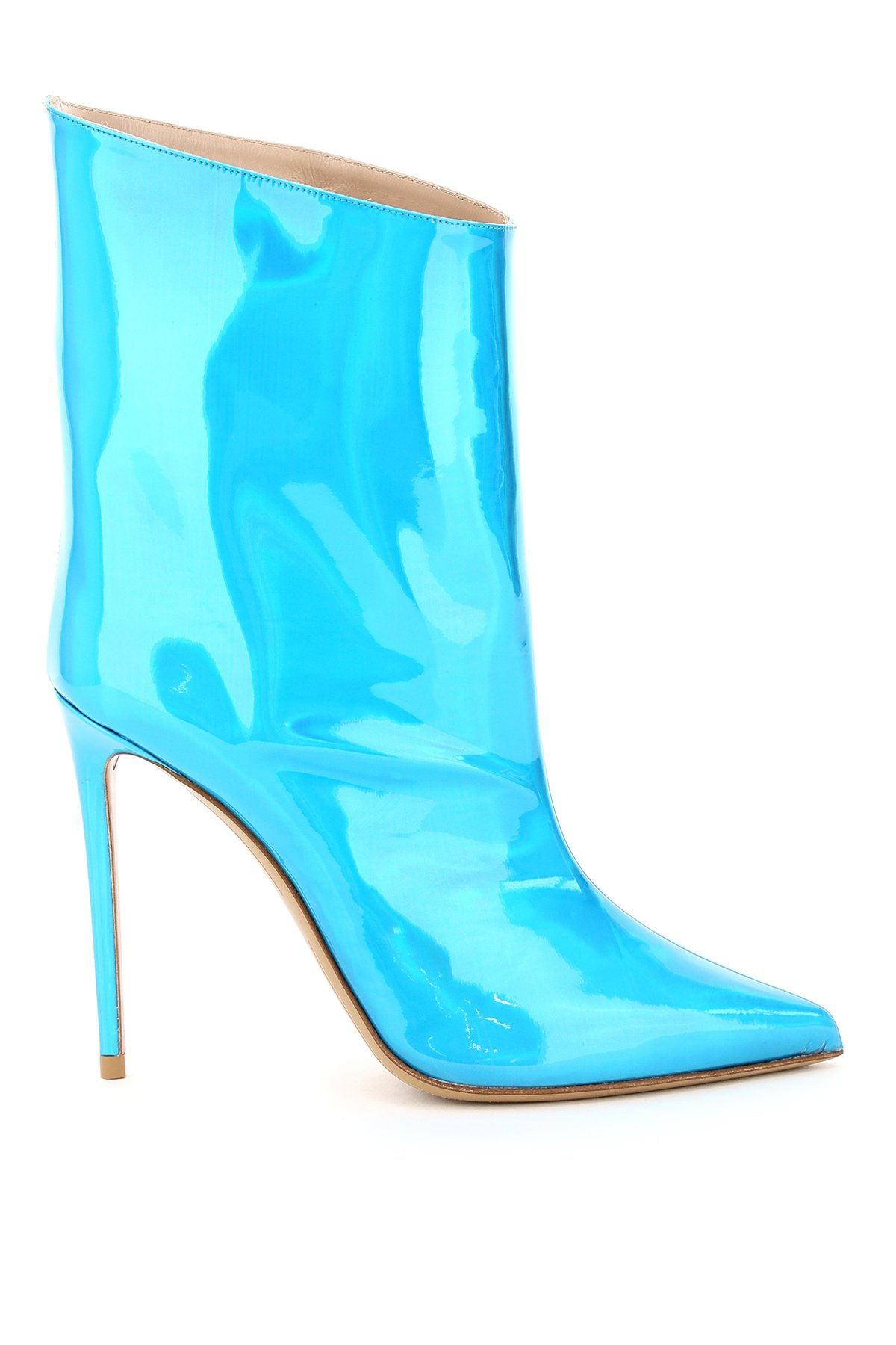 Alexandre vauthier stivali hologram blue alex