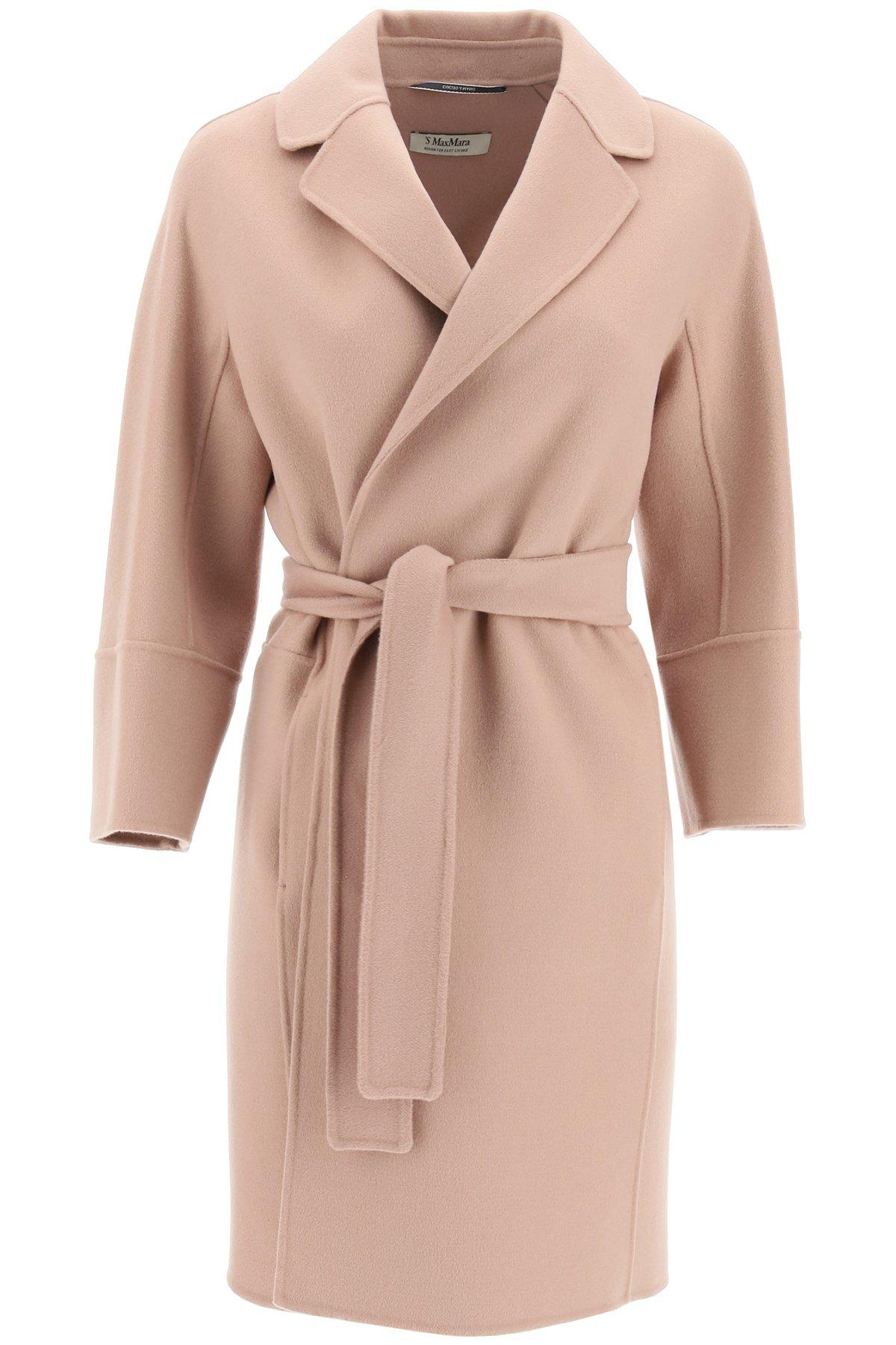 's max mara cappotto arona in lana