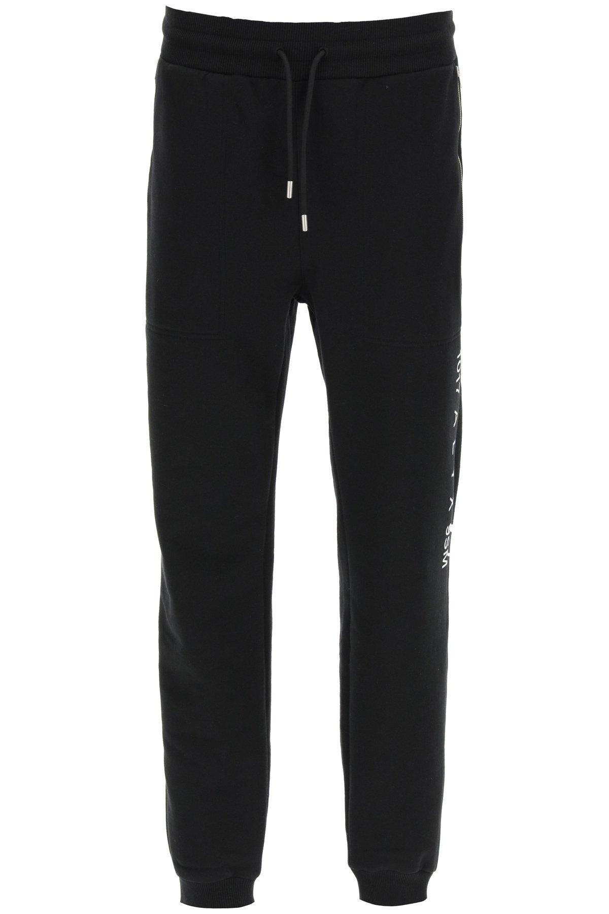 1017 alyx 9sm pantaloni jogger con logo