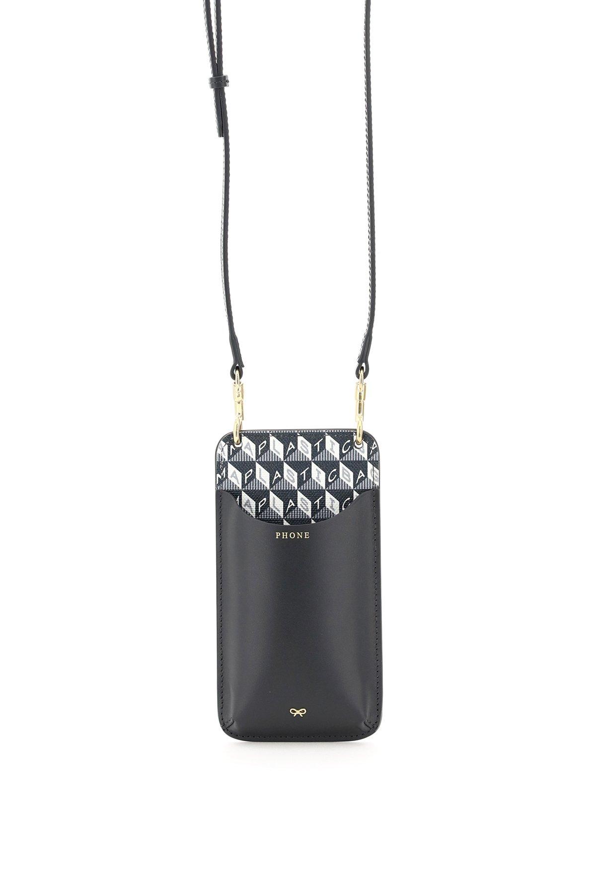 Anya hindmarch phone pouch i am a plastic bag