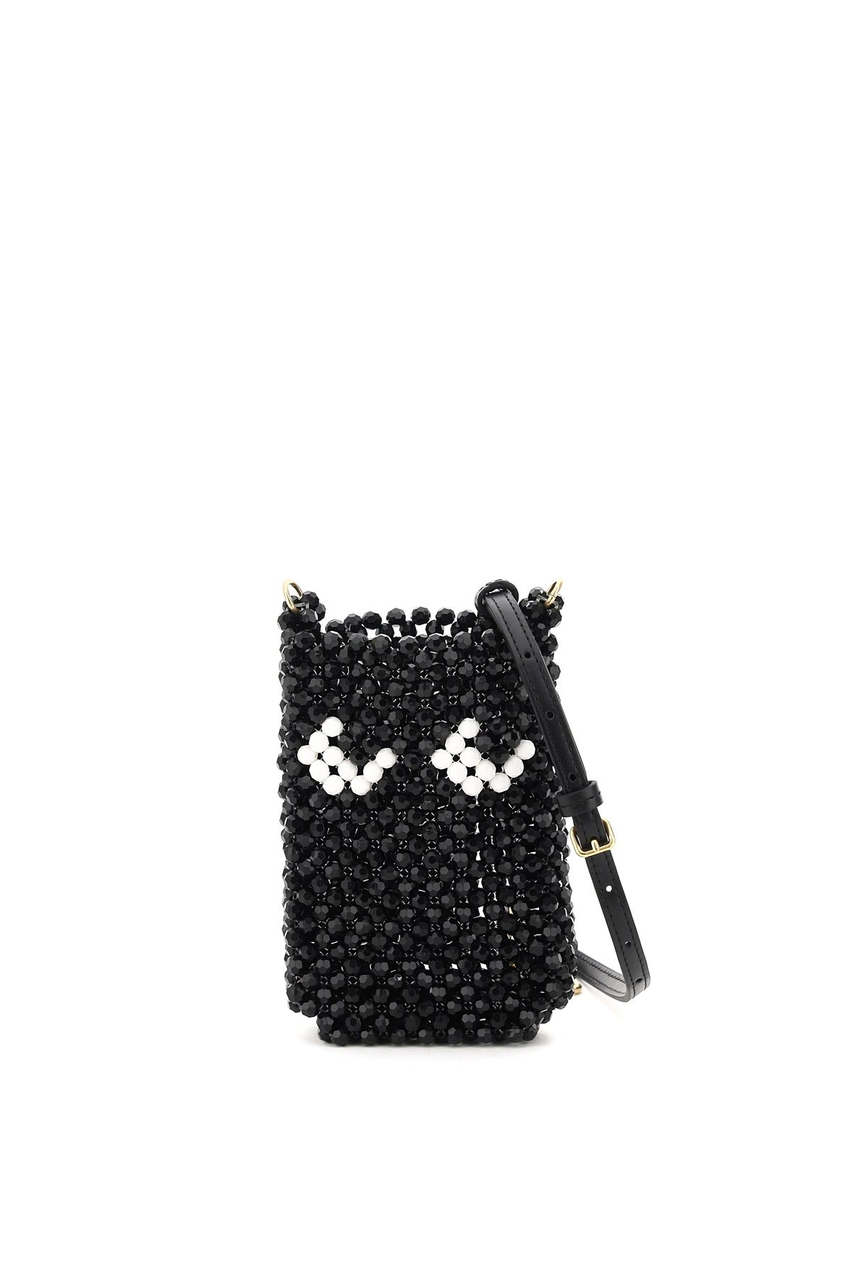 Anya hindmarch phone pouch con tracolla