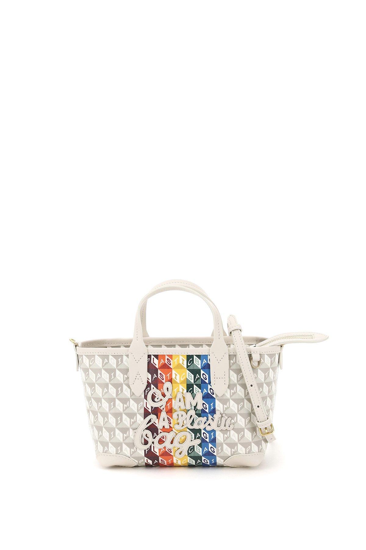 Anya hindmarch mini shopping i am a plastic bag
