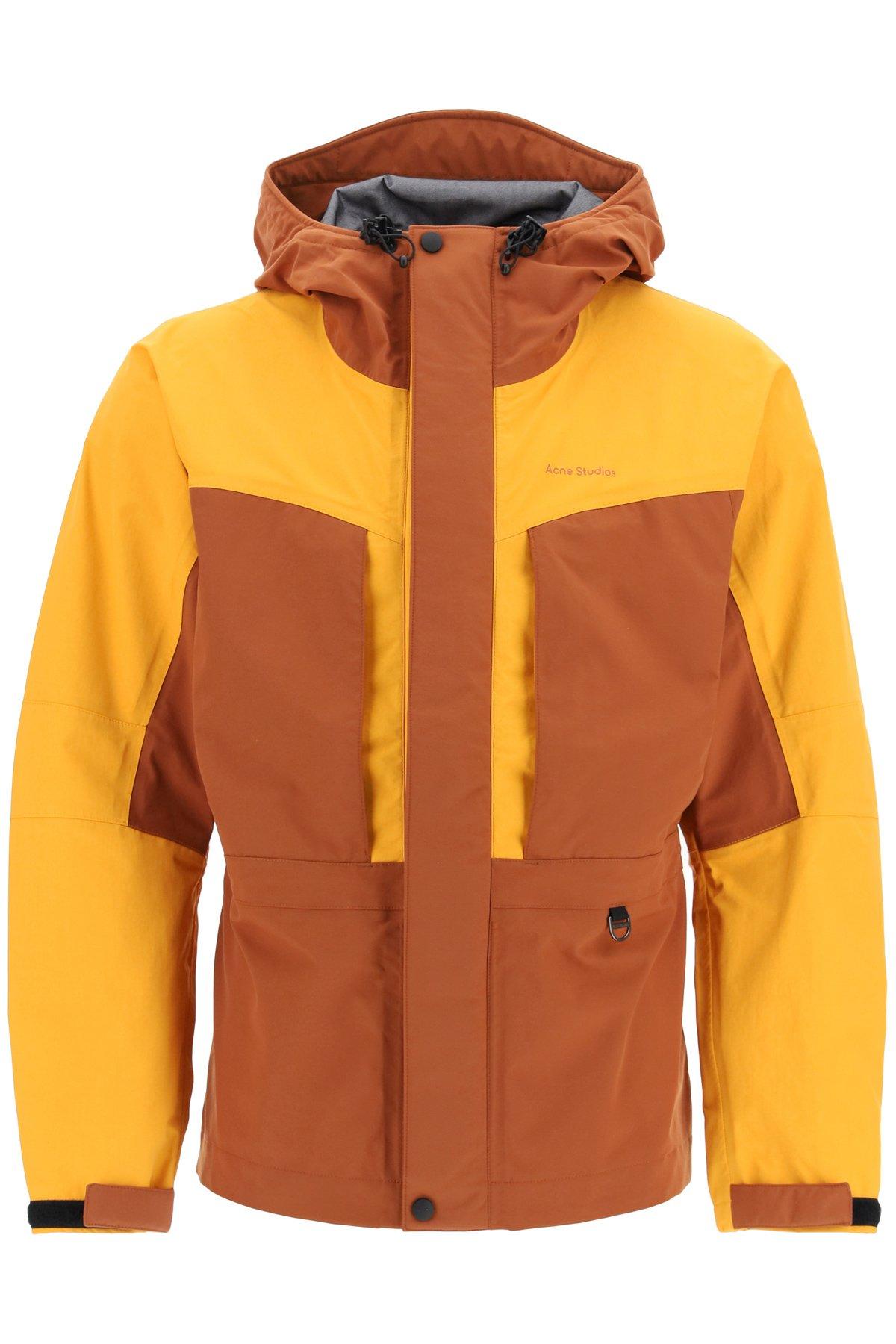 Acne studios anorak jacket bicolore