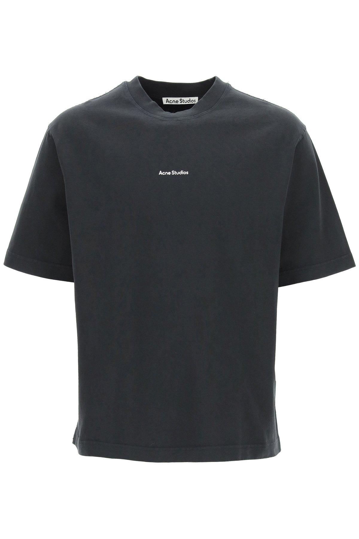 Acne studios t-shirt micro logo