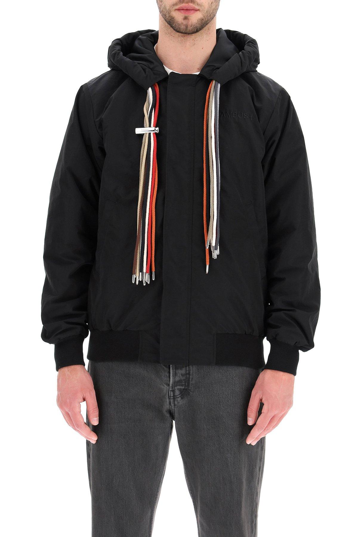 Ambush jacket in nylon con cappuccio multicord