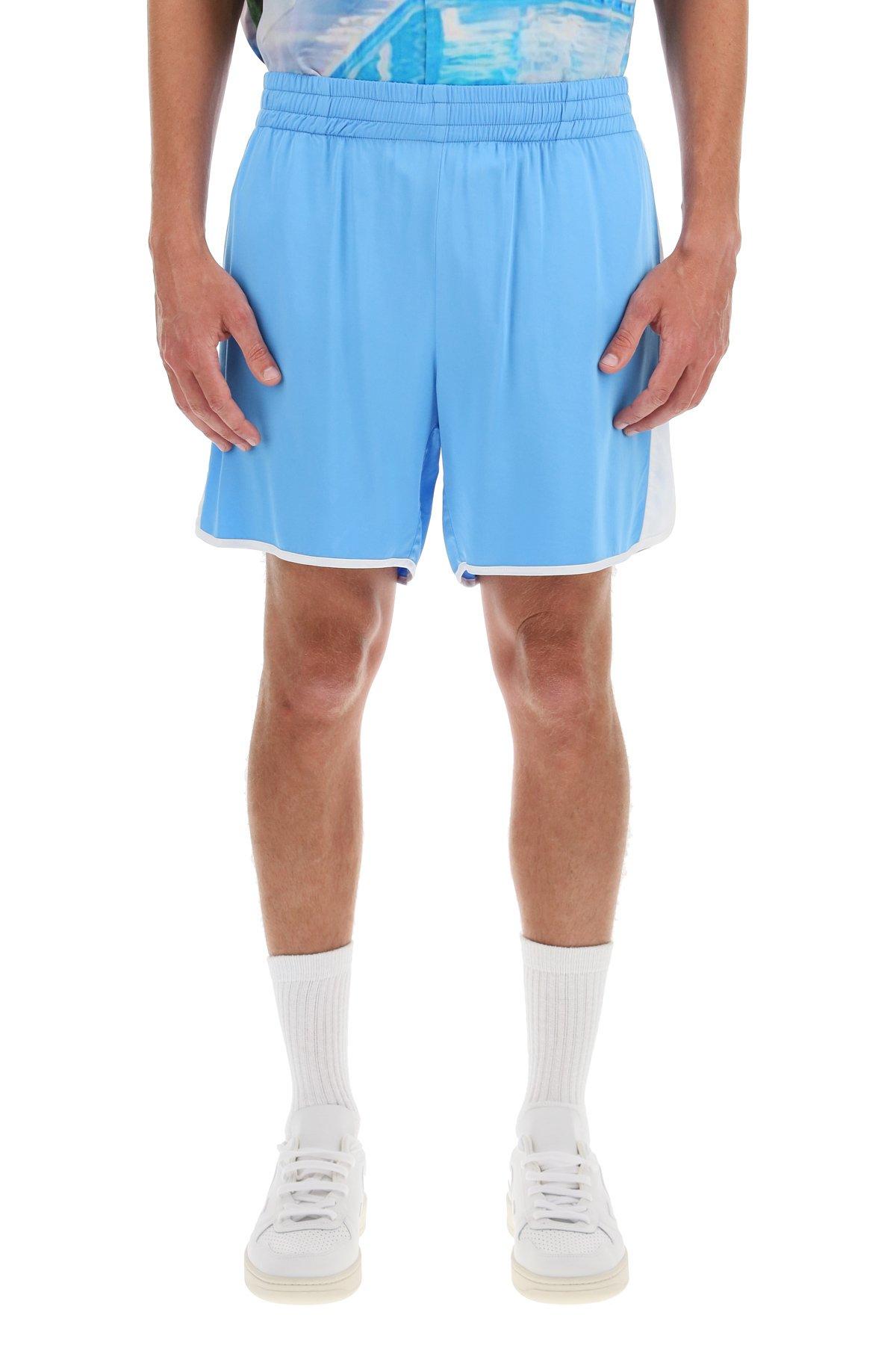Blue sky inn shorts in viscosa