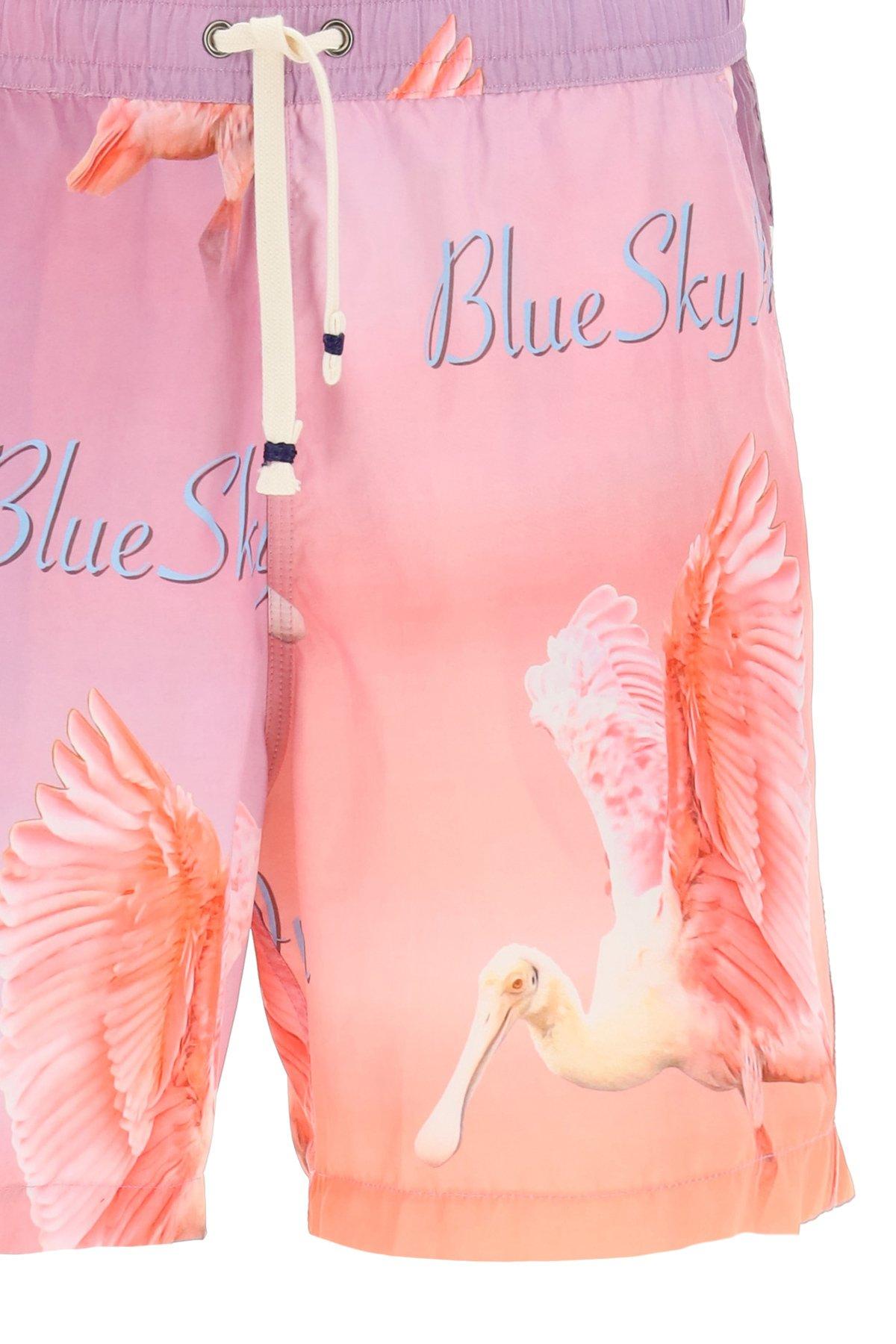 Blue sky inn boxer mare con stampa