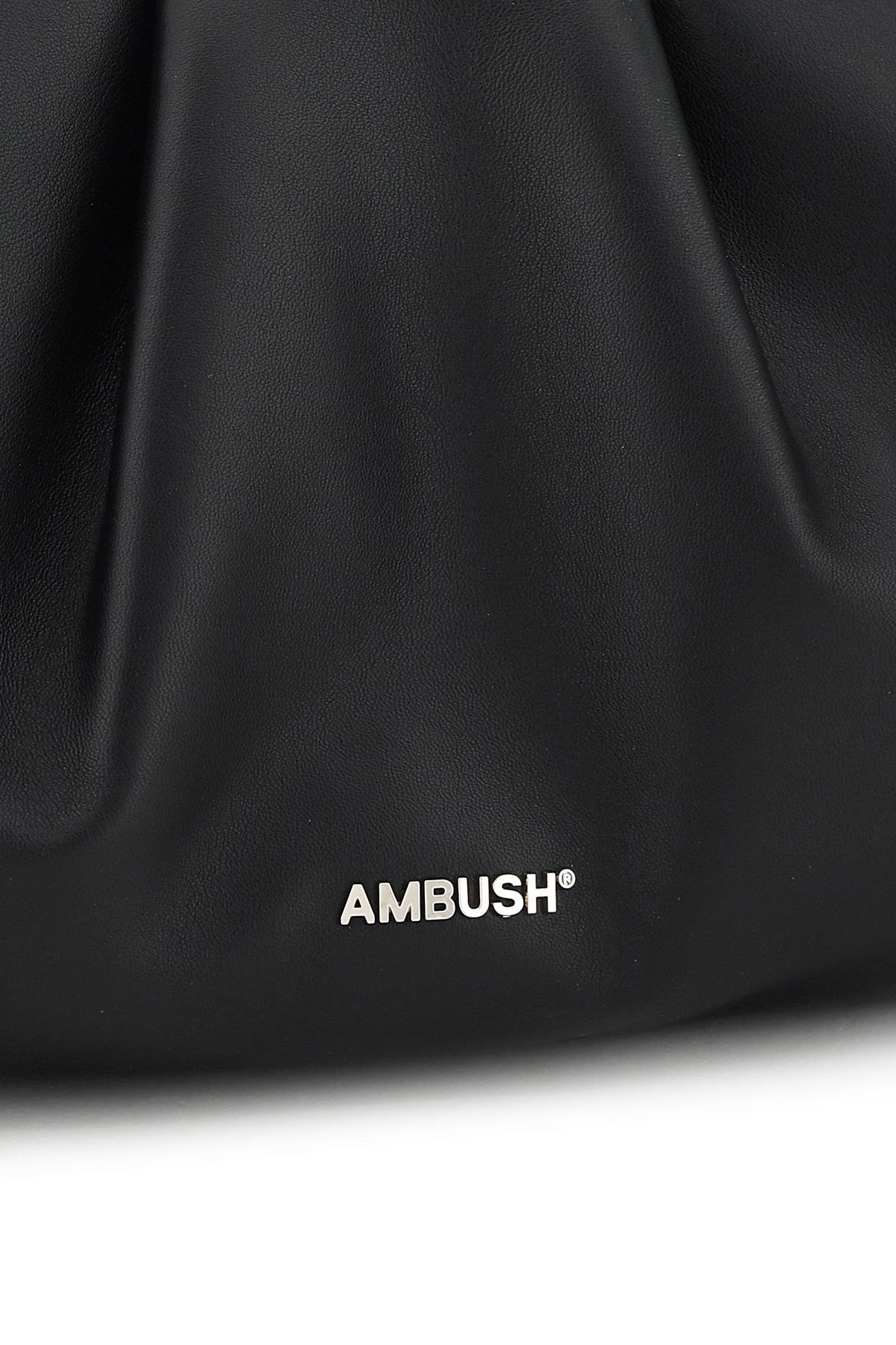 Ambush clutch in pelle maxi wrap