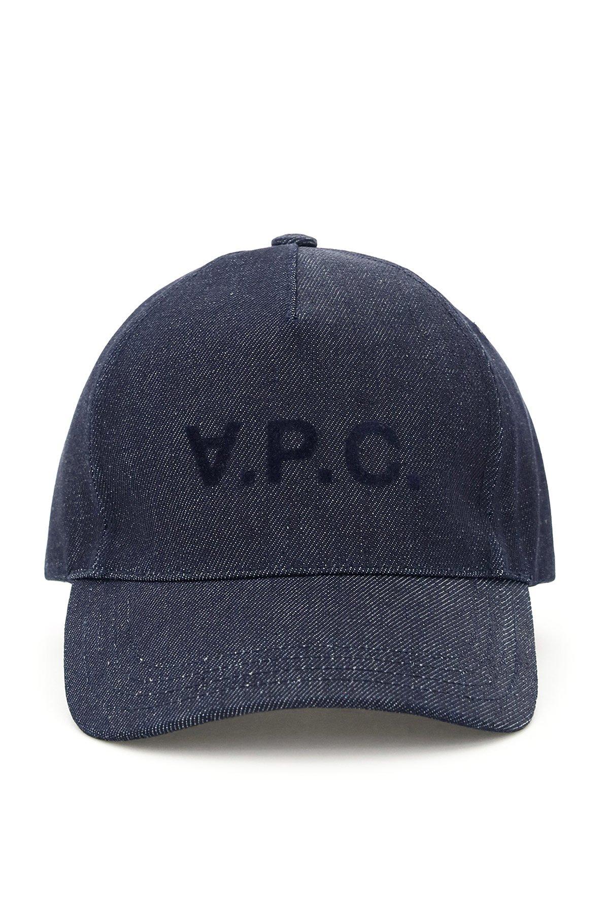 A.p.c. cappello baseball denim eden