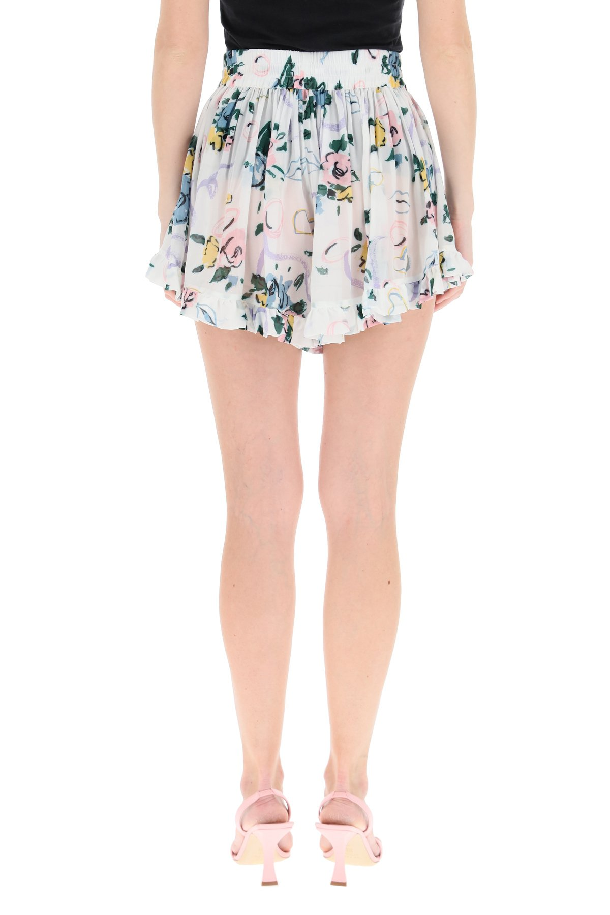 Alessandra rich shorts con stampa floreale