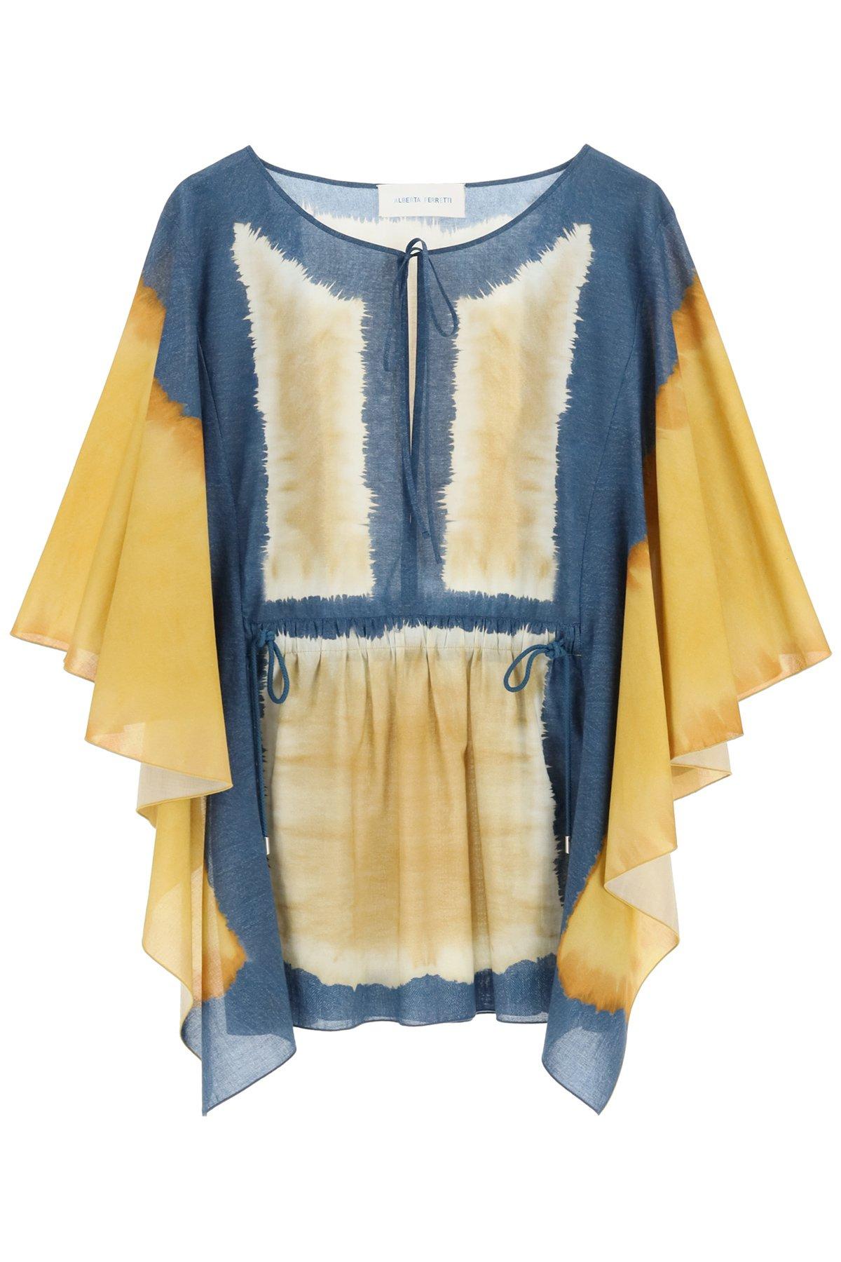 Alberta ferretti caftano tie-dye i love summer