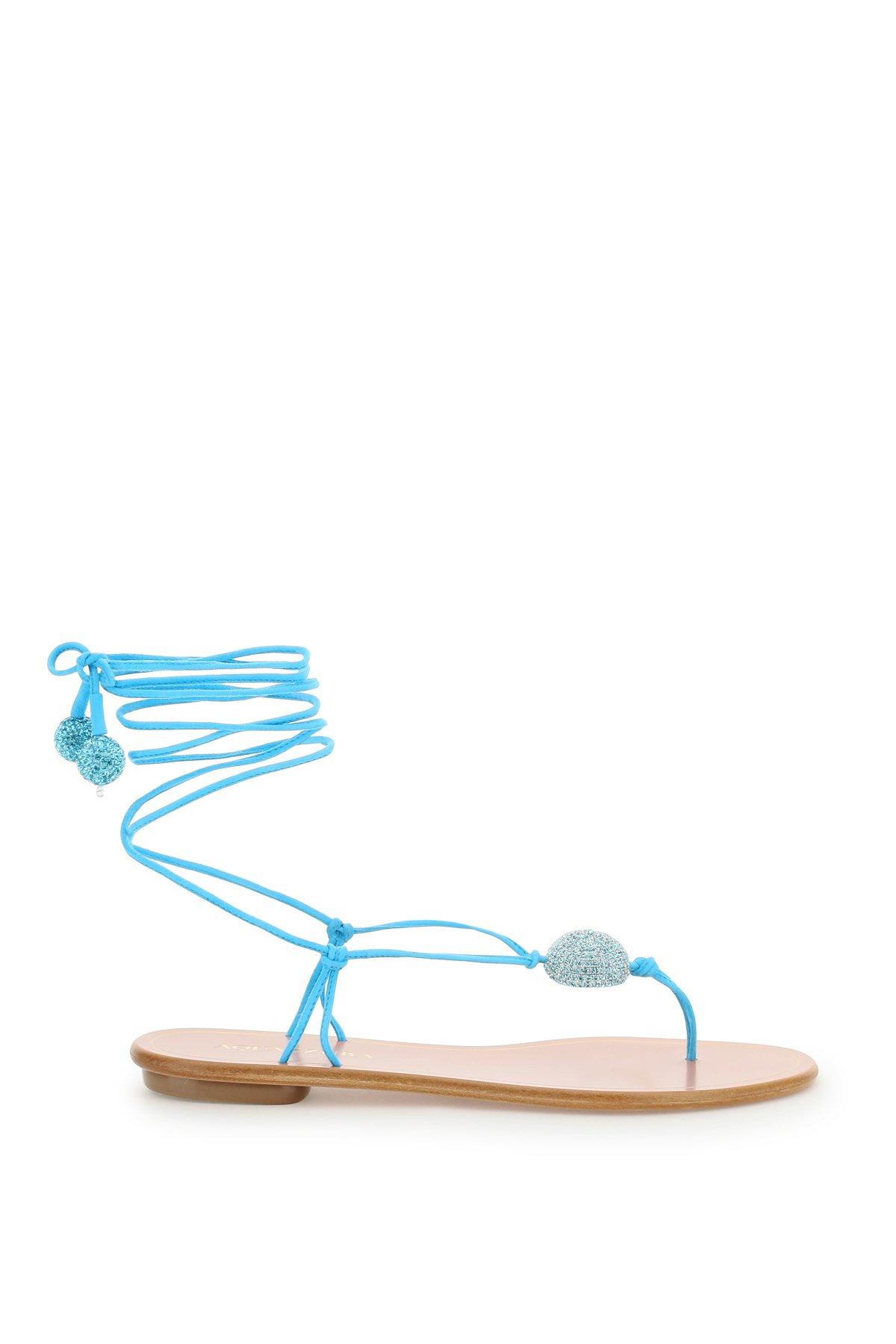 Aquazzura sandali jackie flat