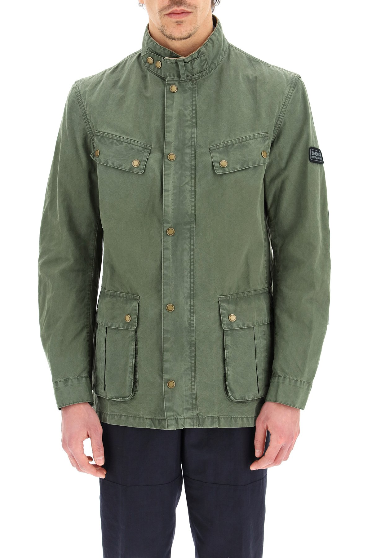 Barbour international giacca duke in cotone